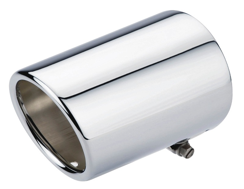 Chrome exhaust tip to suit Suzuki Grand Vitara 2006 onwards.