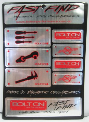 Fast Find Tool Box Magnet Organisers